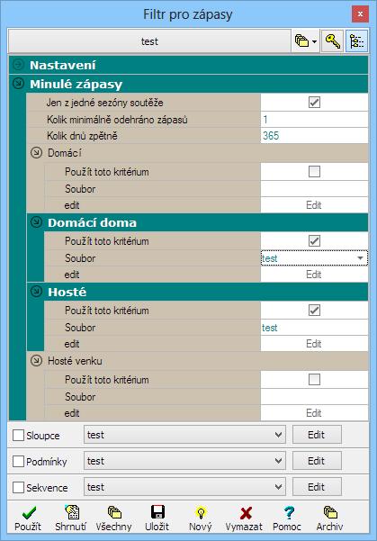 tabel pro vytváření zápasů 8.11 seznam dvou typů relativního datování